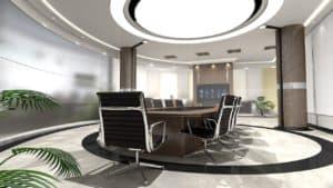 חדר ישיבות במשרד