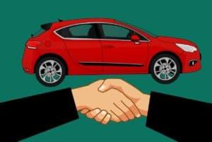 רכב ולחיצת יד